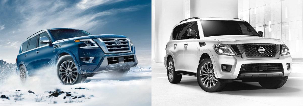 2021 Nissan Armada vs 2020 Nissan Armada   San Antonio TX