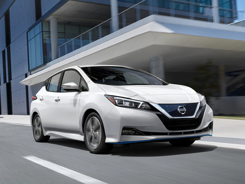 Nissan Oil Changes near me Rancho Santa Margarita - 2021 Nissan Leaf