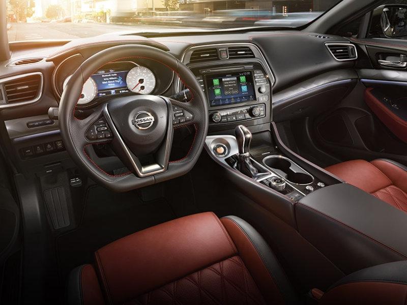 Irvine CA - 2021 Nissan Maxima's Interior