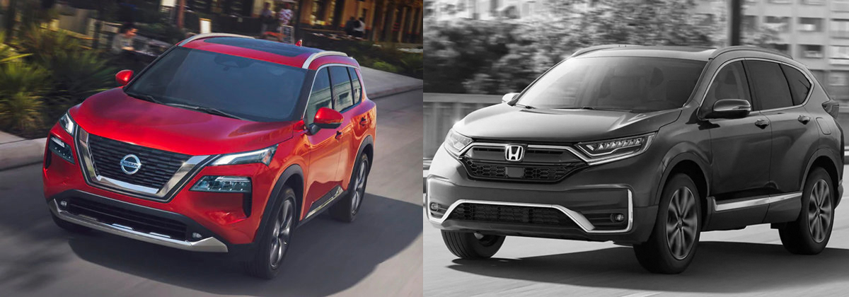 2021 Nissan Rogue vs 2021 Honda CR-V near Tampa FL