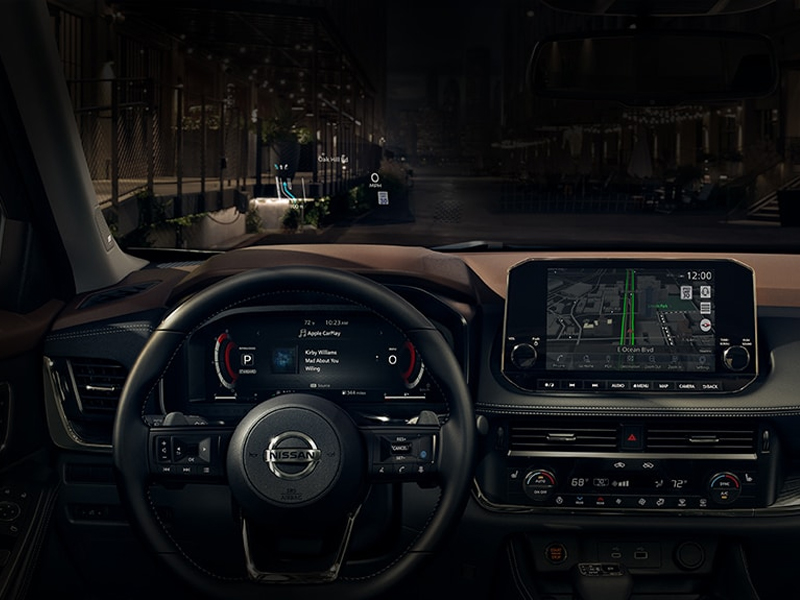 Orange CA - 2021 Nissan Rogue's Interior