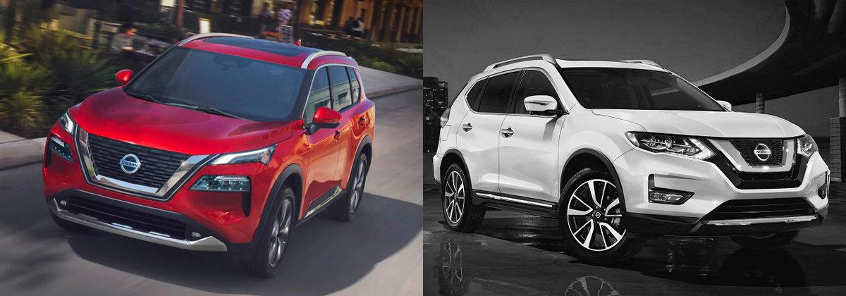 2021 Nissan Rogue vs 2020 Nissan Rogue | San Antonio TX