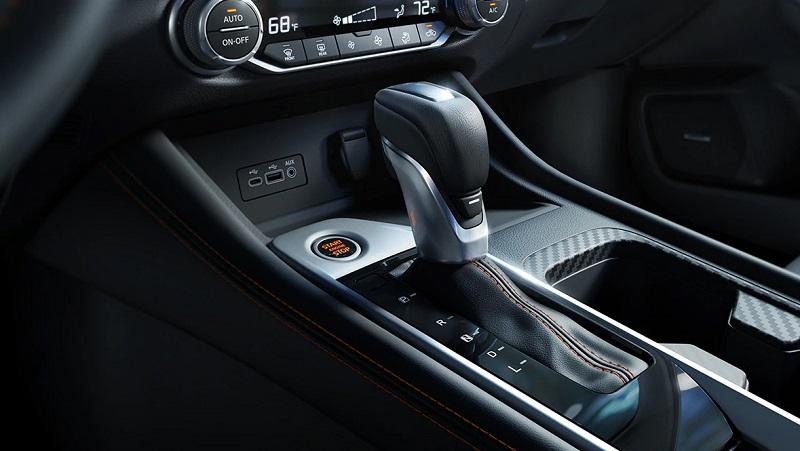 Tustin CA - 2021 Nissan Sentra's Interior