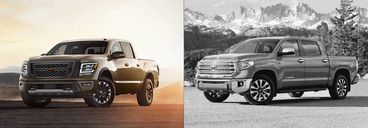 2021 Nissan TITAN vs 2021 Toyota Tundra in Clearwater FL
