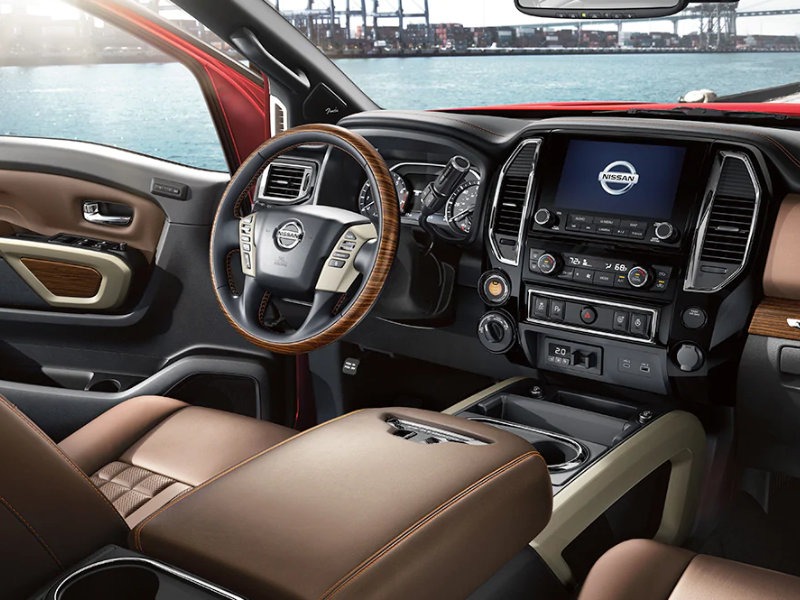 Los Angeles CA - 2021 Nissan Titan's Interior
