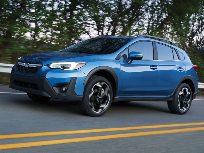 2021 vs 2020 Subaru Crosstrek near Detroit MI