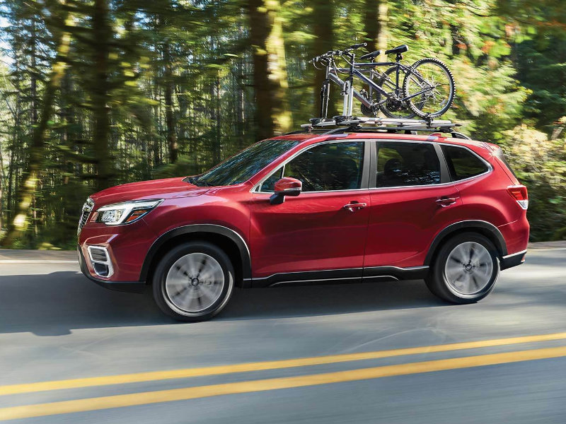 The 2021 Subaru Forester improves safety near Louisville CO