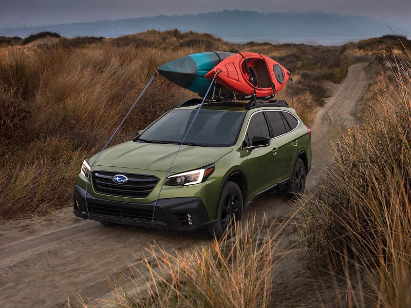 2021 vs 2020 Subaru Outback near Detroit MI