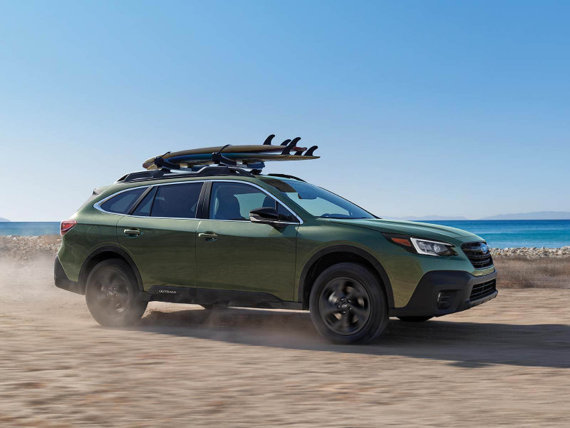 Stay safe in a 2021 Subaru Outback near Lafayette CO