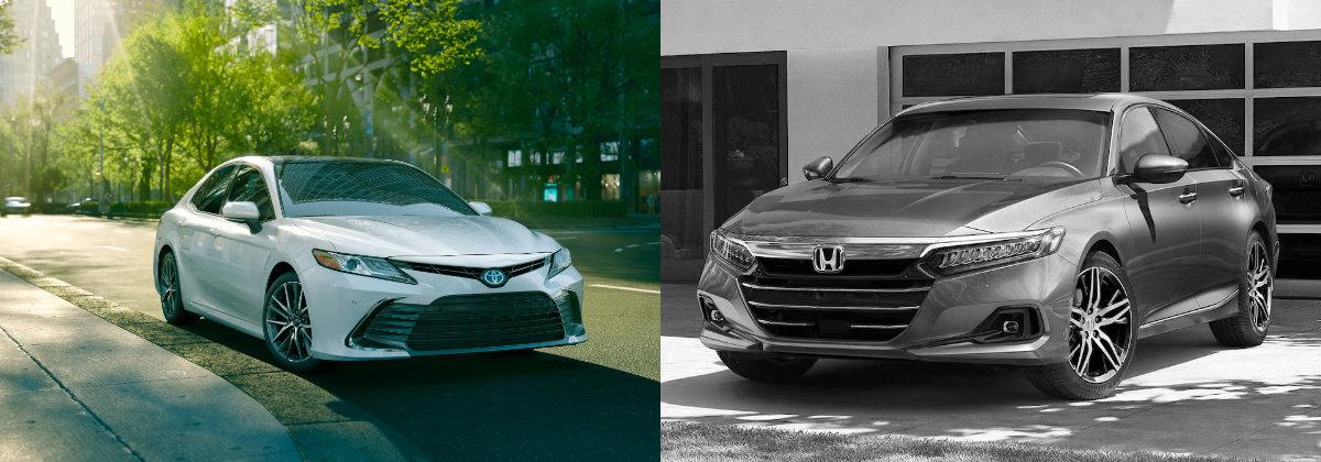 2021 Toyota Camry vs 2021 Honda Accord
