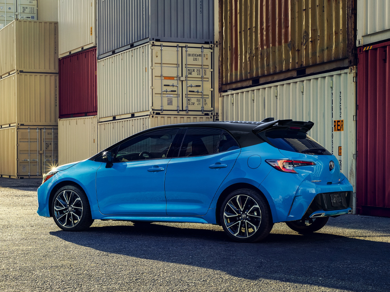 Pittsburgh PA - 2021 Toyota Corolla Hatchback's Exterior