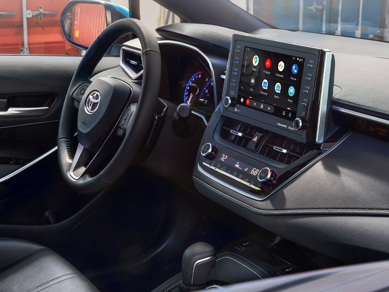 Pittsburgh PA - 2021 Toyota Corolla Hatchback's Interior