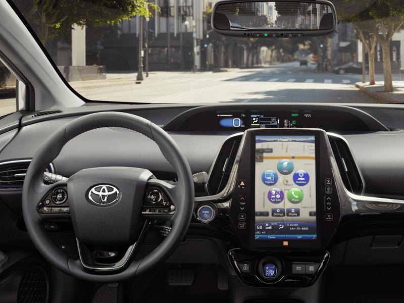 Pittsburgh PA - 2021 Toyota Prius's Interior