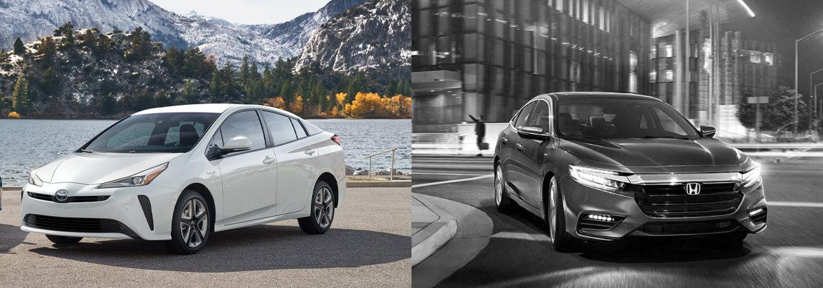 2021 Toyota Prius vs 2021 Honda Insight
