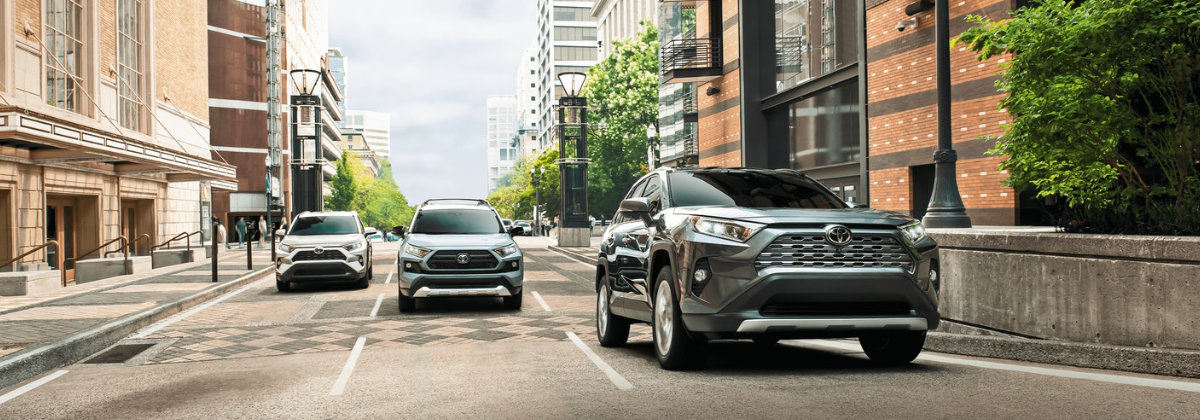 Check out the 2021 Toyota RAV4 near New Castle PA
