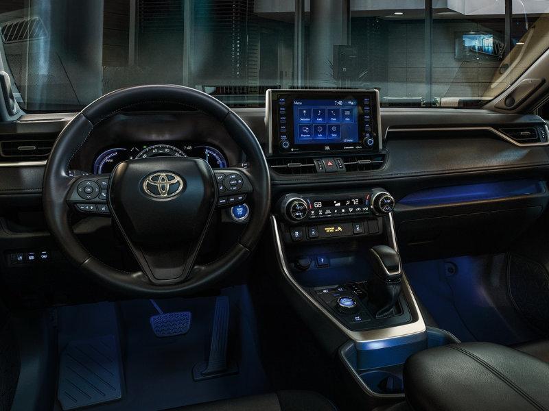 Shreveport LA - 2021 Toyota RAV4's Interior