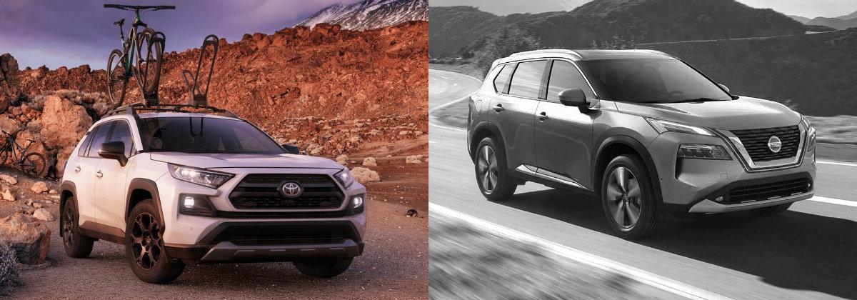 2021 Toyota RAV4 vs 2021 Nissan Rogue in Hermitage PA