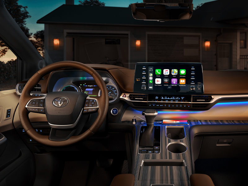 Pittsburgh PA - 2021 Toyota Sienna's Interior