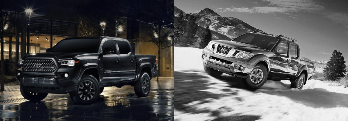 2021 Toyota Tacoma vs 2021 Nissan Frontier in Hermitage PA