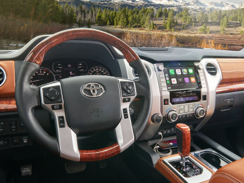 Pittsburgh PA - 2021 Toyota Tundra's Interior