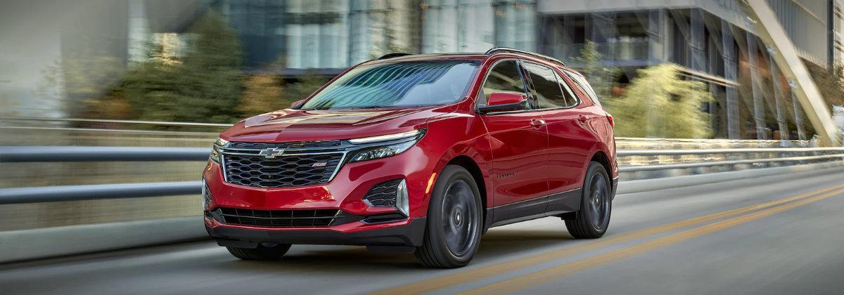 2022 Chevrolet Equinox vs 2022 Chevrolet Trax