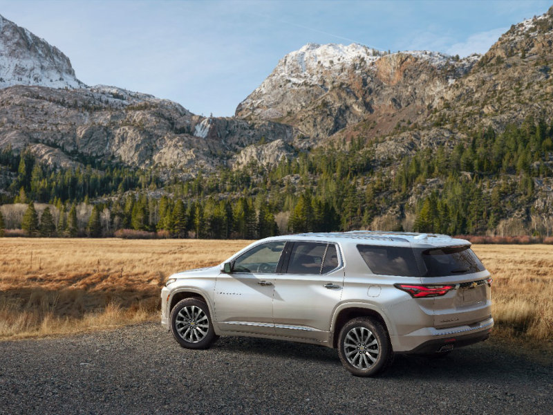 Hermitage PA - 2022 Chevrolet Traverse's Overview