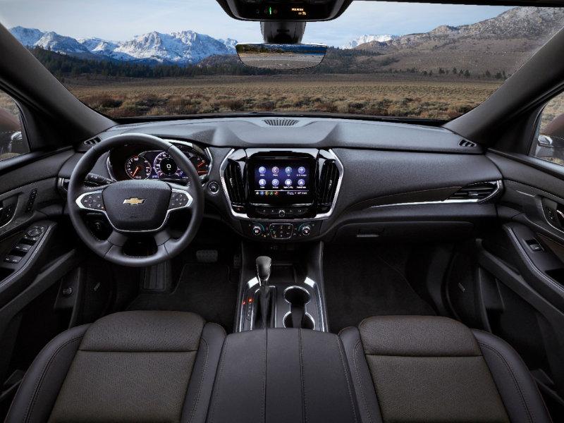 Hermitage PA - 2022 Chevrolet Traverse's Interior