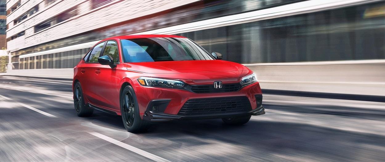 Test drive the Honda Civic near North Liberty IA