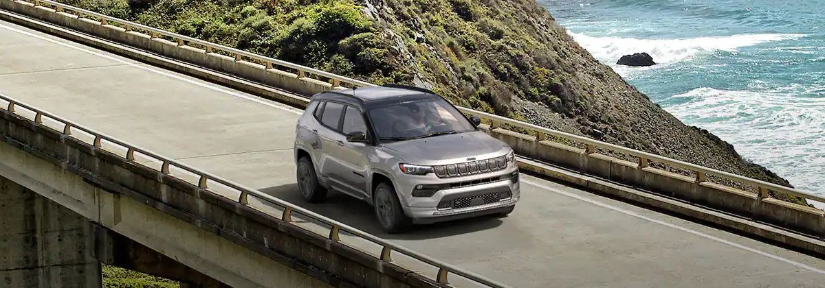 2022 Jeep Compass received a variety of upgrades near West Covina CA