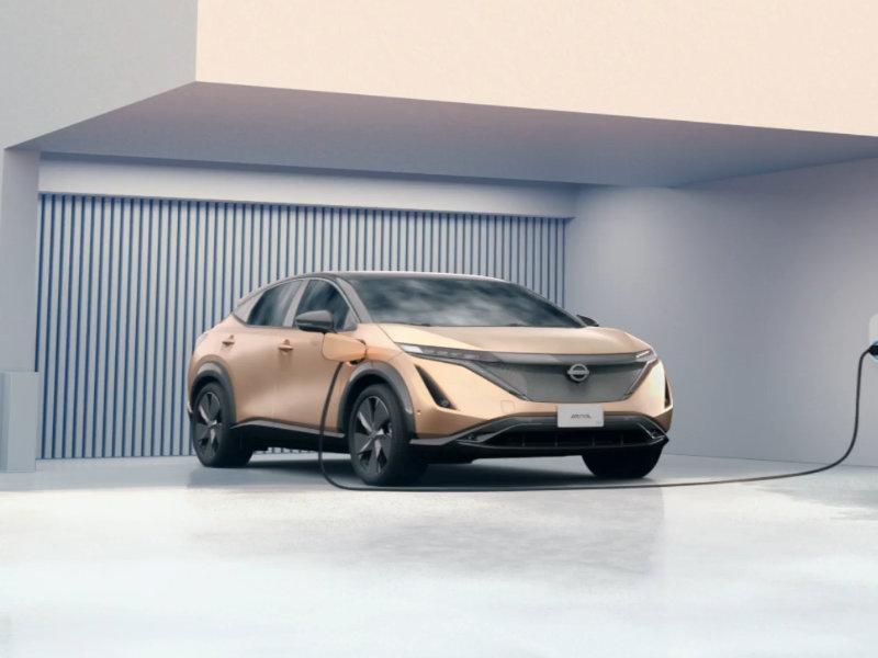 Los Angeles CA - 2022 Nissan Ariya's Exterior