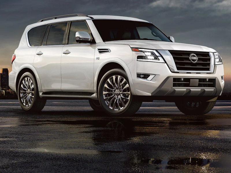 Clearwater FL - 2022 Nissan Armada's Exterior