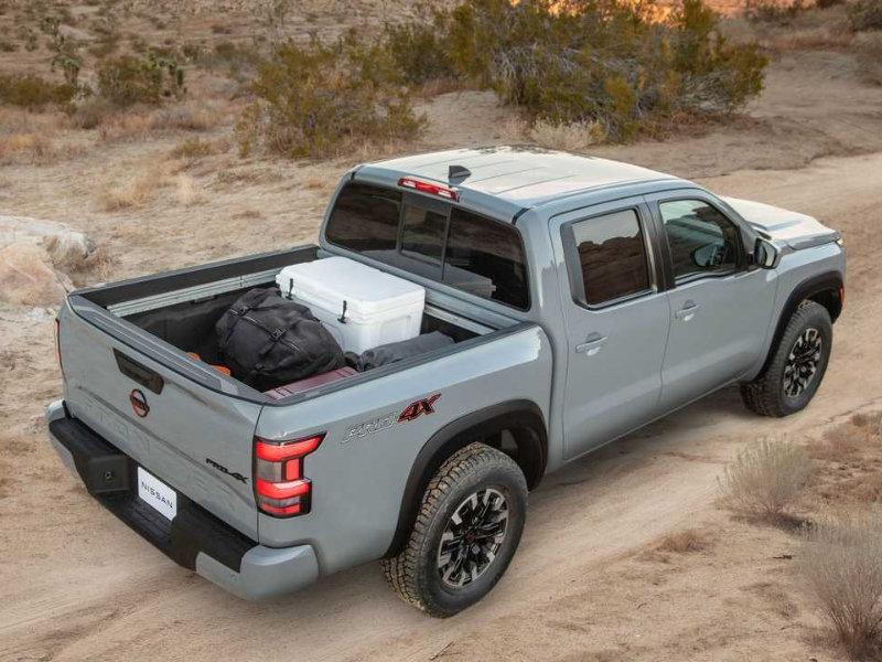 San Antonio TX - 2022 Nissan Frontier's Overview