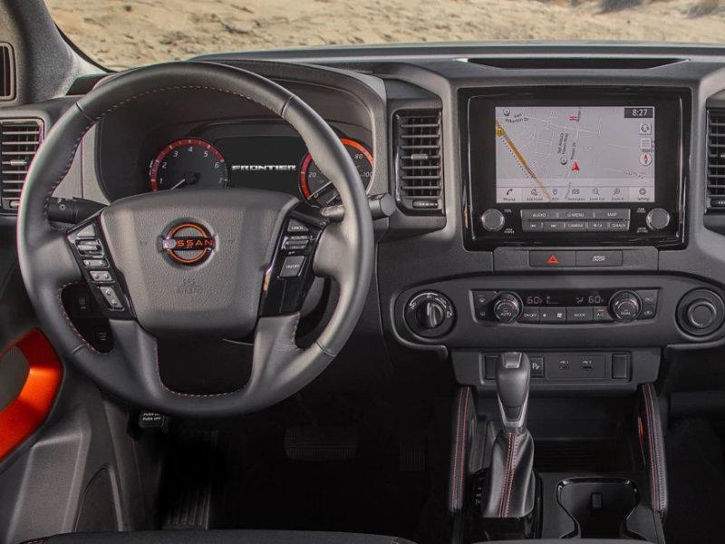 San Antonio TX - 2022 Nissan Frontier's Interior