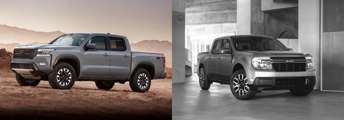2022 Nissan Frontier vs 2022 Maverick
