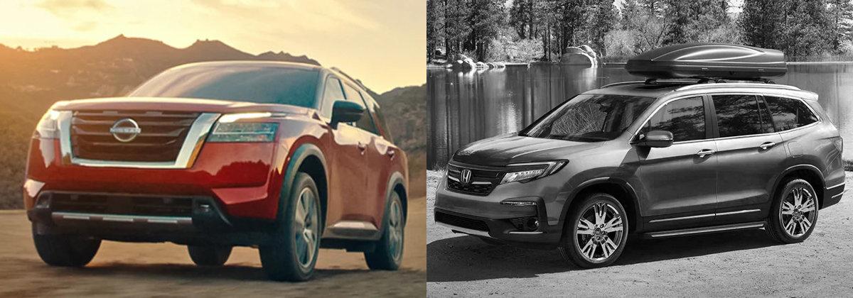 2022 Nissan Pathfinder vs 2021 Honda Pilot in Orange County