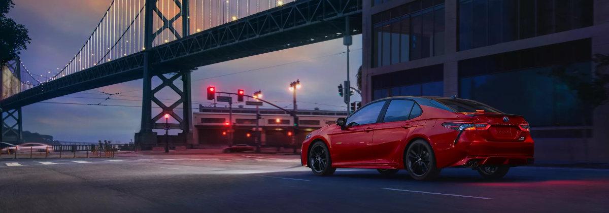 2022 Toyota Camry vs 2021 Toyota Camry