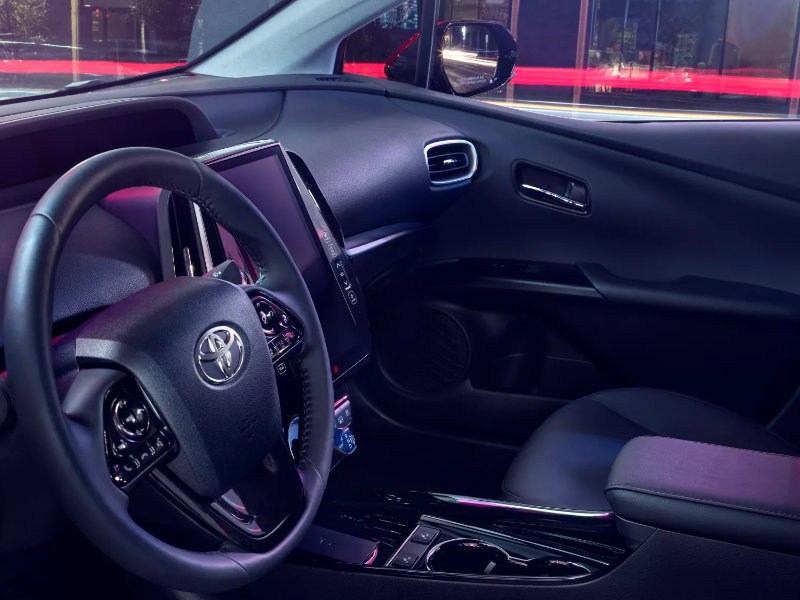Youngstown OH - 2022 Toyota Prius Prime's Interior