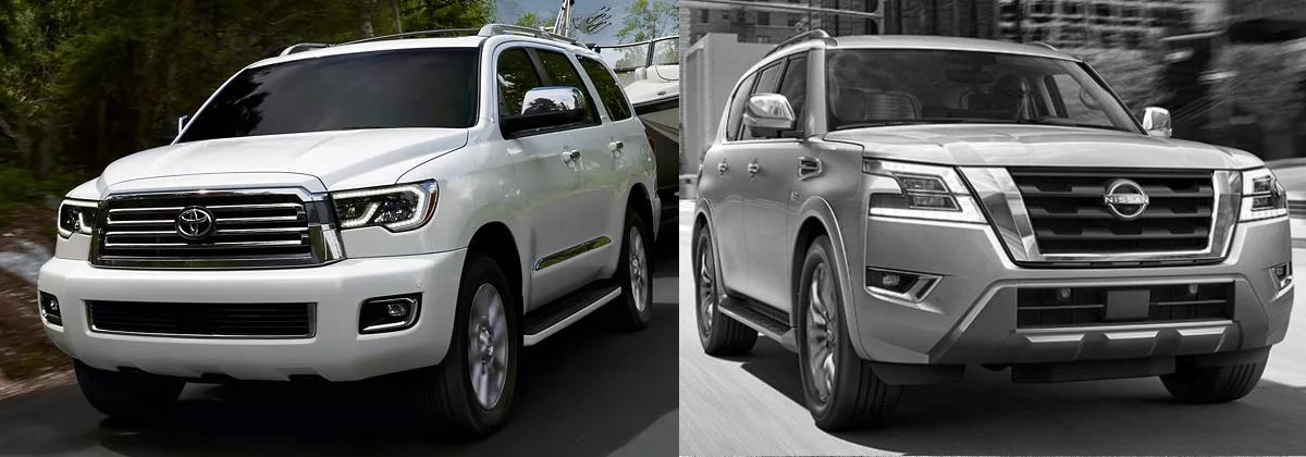 2022 Toyota Sequoia vs 2022 Nissan Armada Comparison