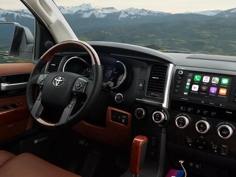 Hermitage PA - 2022 Toyota Sequoia's Interior