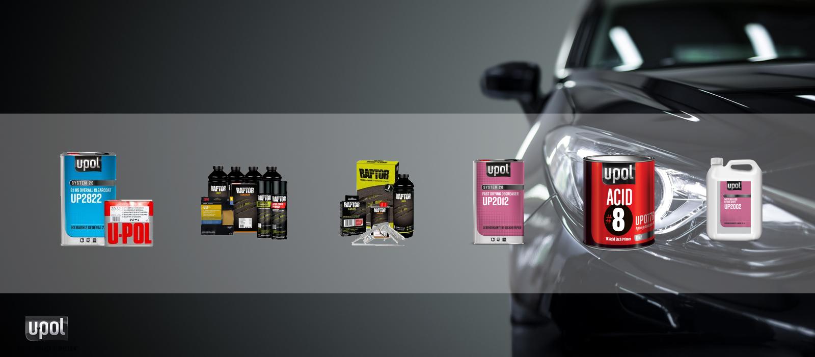 Restomotive - U-POL Products for Sale