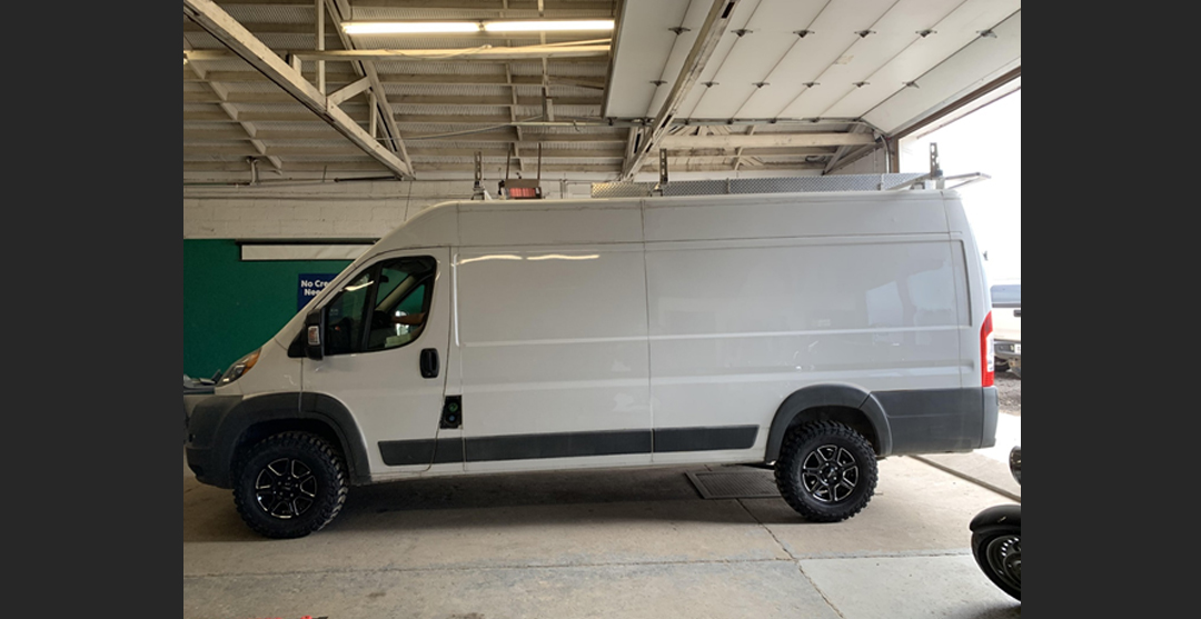 Conversion Vans - Off-Road Automotive