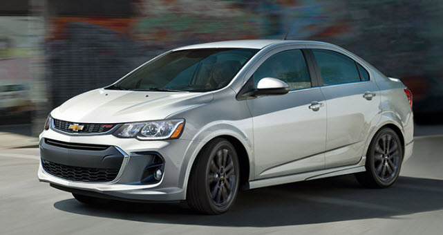 2017 Chevrolet Sonic Massillon Ohio
