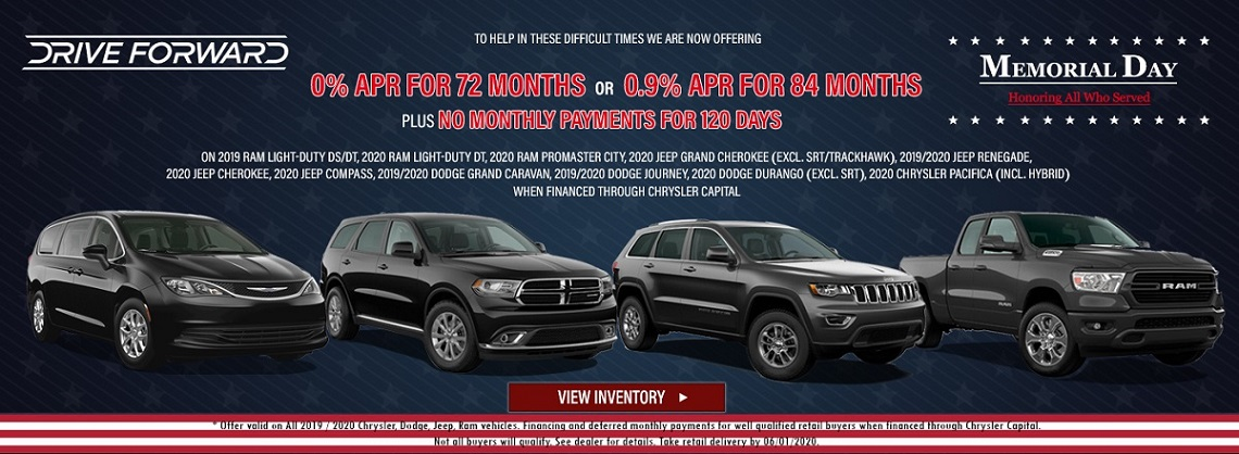 Memorial Day Sales Event in Wabash IN