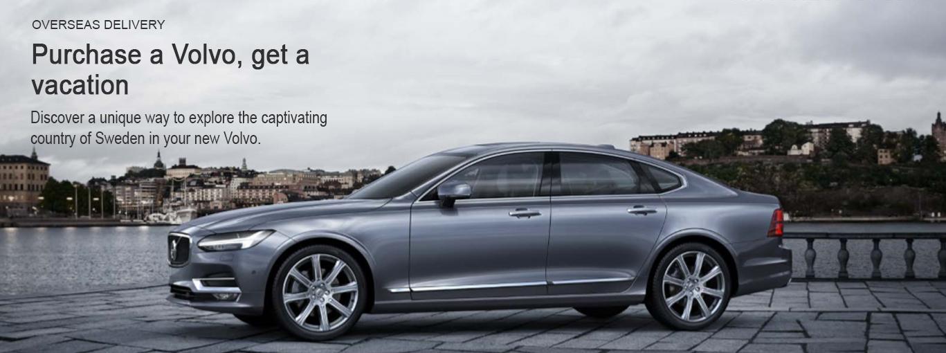 Volvo Overseas Delivery Program near Phoenix AZ | Courtesy ...